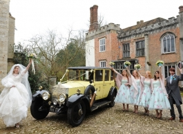 Vintage Rolls Royce wedding hire in Reigate